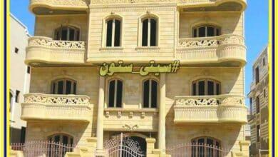 صورة واجهات منازل حجر هاشمى مصر تشطيب واجهات 01124729737